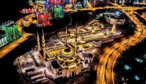 Dev eser Ankara'da yükseliyor