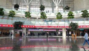 Ankara Yüksek Hızlı Tren Garı Leed Gold Sertifikası aldı