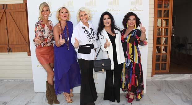 Türkiye'nin dört ünlü annesi İstMarina Alışveriş Merkezi'nde bir araya geldi