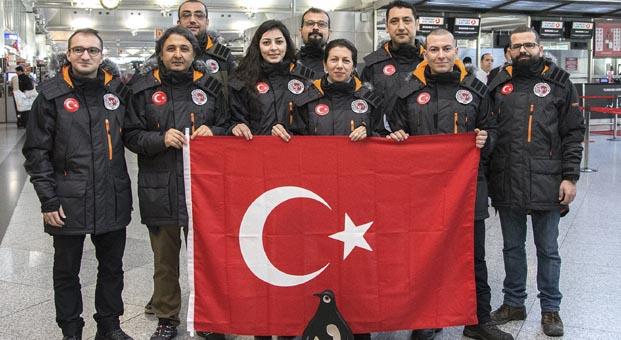 Antarktika için ön fizibilite Türk ekibi yola çıktı