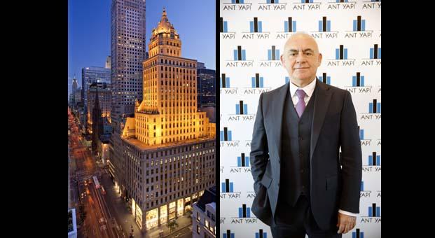 Manhattan'ın tacı 'The Crown Building' Ant Yapı'ya emanet