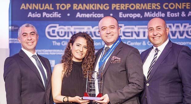 Dünyanın en büyük çağrı merkezleri kuruluşundan Arçelik A.Ş.'ye büyük ödül