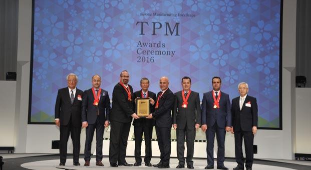 Arçelik A.Ş. Eskişehir Buzdolabı İşletmesi'ne tarihi ödül
