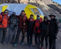 Arçelik küresel ısınmaya karşı farkındalık yaratmak için Aconcagua'ya tırmanıyor