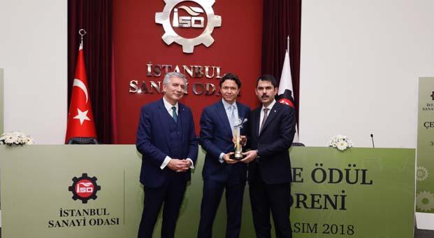 Arçelik'e İstanbul Sanayi Odası'ndan 'İnovatif Çevre Dostu Ürün' Ödülü