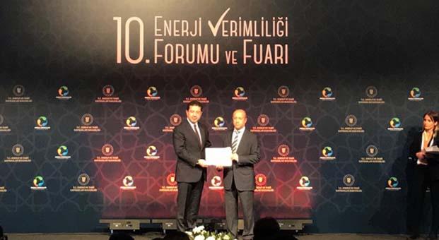 Arçelik'e Enerji Bakanlığından başarı ödülü