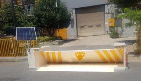 Arma Kontrol'den Türkiye'de bir ilk: Güneş enerjisiyle çalışan mobil road blocker