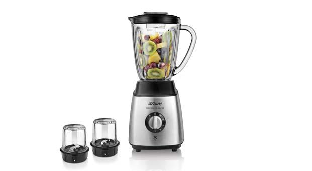 Serinleten eşsiz lezzetler için Arzum Maxiblend Glass Sürahi Blender