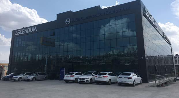 ASCENDUM Makina Ankara Şubesi hizmete açıldı