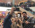 Aslı Gibidir filmi oyuncuları İzmir galasıyla Optimum'da sevenleriyle buluştu