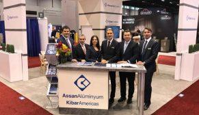 Assan Alüminyum Amerika'da faaliyetlerine AHR Expo fuarıyla devam ediyor