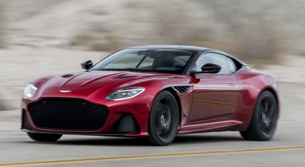 Aston Martin 'DBS SUPERLEGGERA' 675 bin Euro'dan başlayan fiyatlarla Türkiye'de satışa sunuldu