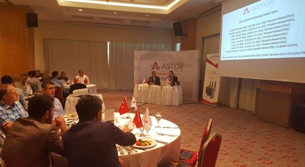 İzmir enerji sektörü Astor Transformatör ile bir araya geldi