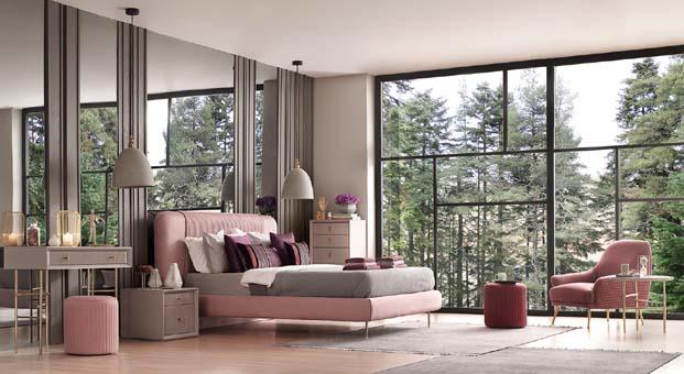 Yatak odalarının ilham veren tamamlayıcıları: Makyaj Masaları