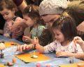 'Tatilde Atölye' ile çocuklar eğlendi anneler öğrendi