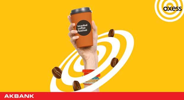 İstanbul Coffee Festival ana sponsoru Axess oldu