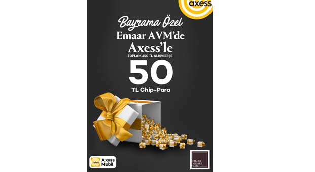 Emaar AVM'den 'Axess'lilere özel bayram kampanyası