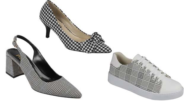 Ayakkabı Dünyası'nda ekose desenlerle 50'ler Modası