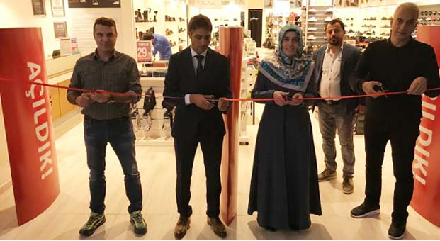 Ayakkabı Dünyası, Ağrı Doğubayazıt AVM'de yeni mağazasını açtı