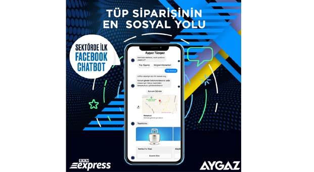 Aygaz sipariş kanallarına Aygaz Chatbot'u ekledi