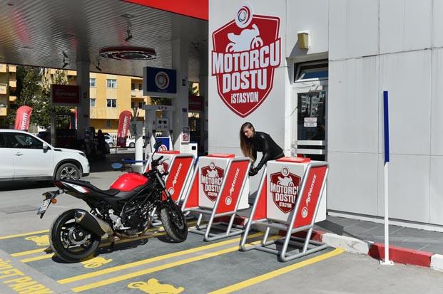 Aytemiz motorcu dostu istasyon ile motosiklet kullanıcılarına sahip çıkıyor
