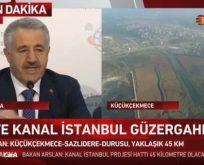 Kanal İstanbul Projesi'nin güzergahı belli oldu: Küçükçekmece – Sazlıdere – Durusu koridorundan geçecek