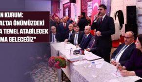 Bakan Kurum: İstanbul'da 6 bin 300 tane sosyal konutu inşa edeceğiz.