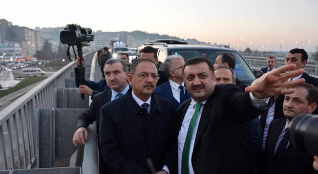 """Bakan Özhaseki: """"Rize'de yakında projeye başlayacağız"""""""
