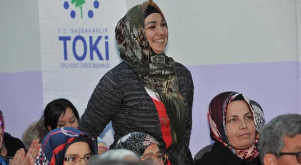 Kırıkkale Balışeyh 118 konutun hak sahipleri belirlendi