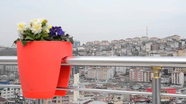 Balkonlarınızı yeşillendirin