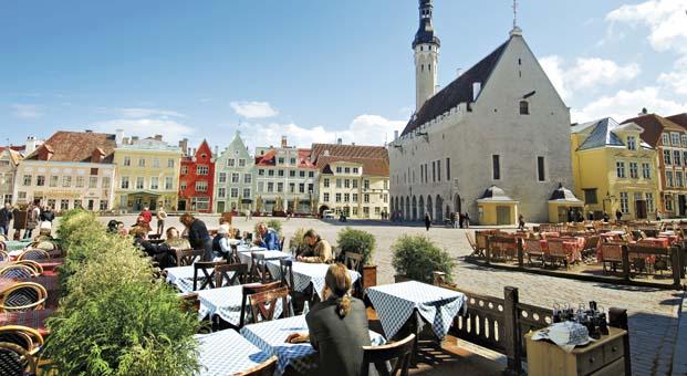 En güzel mevsiminde Baltıklar'ı keşfedin