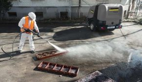 İnşaatlarda yüzde 50 daha etkin temizlik sıcak basınçlı yıkayıcılarla mümkün