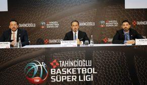 Tahincioğlu Basketbol Süper Ligi isim sponsoru oldu