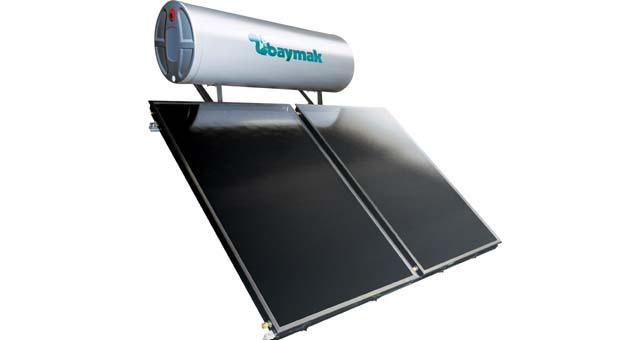 Baymak Güneş Kolektörleri Paket Sistemleriylemaksimum güneş enerjisi