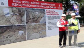 Kabataş-Mecidiyeköy Metrosu arkeolojik kazılardan dolayı 2019'un Haziran'ına uzayabilir