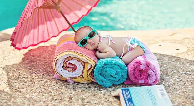 Dikkat, güneş en çok bebekleri etkiliyor