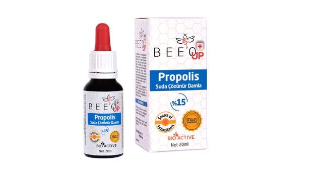 BEE'O UP suda çözünür Propolis damla
