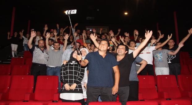 """""""Bekar Bekir"""" özel gösterimi Kent Meydanı AVM'de yapıldı"""
