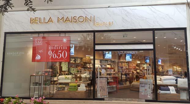 Bella Maison yeni mağazasını Viaport AVM'de kampanyayla açtı