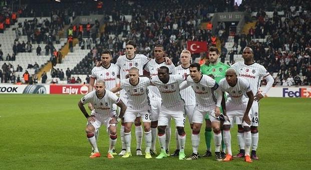 Beşiktaş, UEFA'da son 16'da