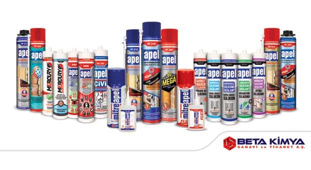Beta Kimya A.Ş., Avrasya Pencere Fuarı'nda yeni ürünleriyle boy gösterecek