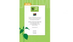 Betek Boya Genel Müdürlüğü'Yeşil Ofis' diplomasına hak kazandı