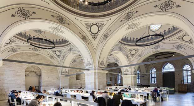 Beyazıt Devlet Kütüphanesi dünyanın en güzel 10 modern kütüphanesi arasında yer aldı