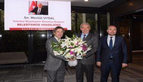İBB Mevlüt Uysal, Beyoğlu Belediyesi'ni ziyaret etti