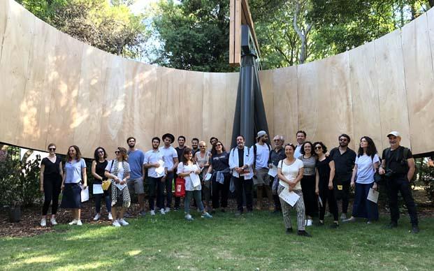 Ytong Mimari Fikir Yarışması'nı kazananlar Venedik Bienali'ni ziyaret etti