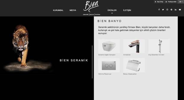 Bien yenilenen vizyonunu web sitesinde yansıttı