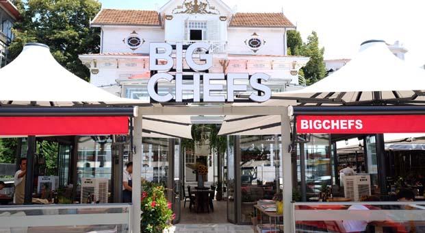 BigChefs eşsiz lezzetleriyle Fenerbahçe'de