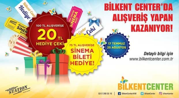 Bilkent'ten herkese yaz fırsatı