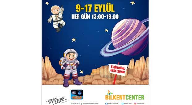 Geleceğin astronotları Bilkent Center'da