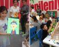 Çocuklar Bilkent Center'da sanatla kucaklaştı